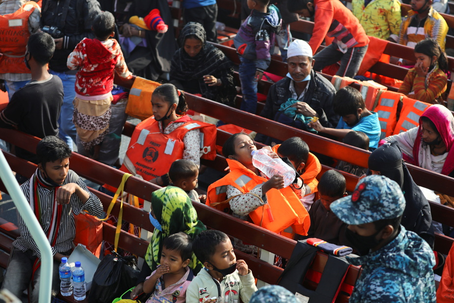 Bangladesh moves largest group of Rohingya refugees to remote island
