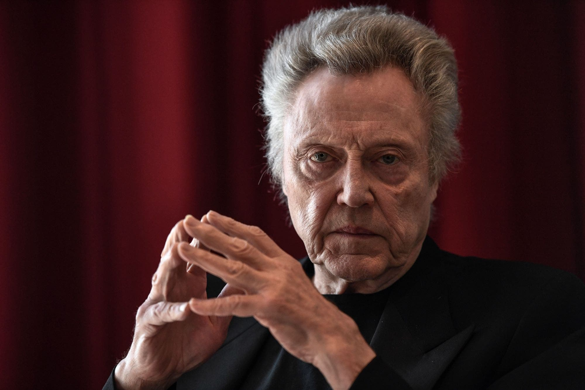 Christopher Walken Says He's Never Sent a Text, Email