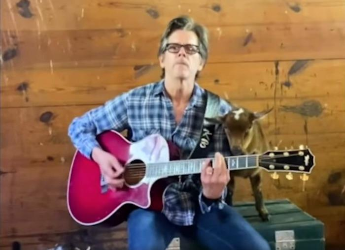 Kevin Bacon Sings Radiohead's 'Creep' For His Goats   ALT 98.7