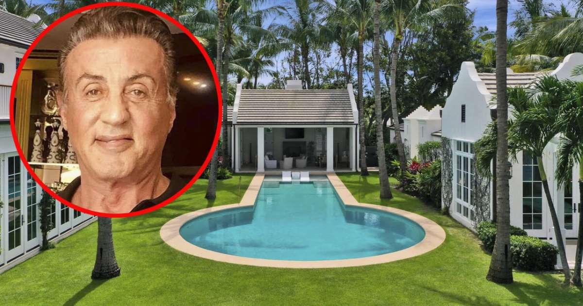 See Sylvester Stallone's new mansion - Inspired Traveler ...