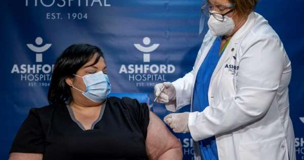 Pfizer COVID-19 vaccines arrive at Baptist Health in Madisonville