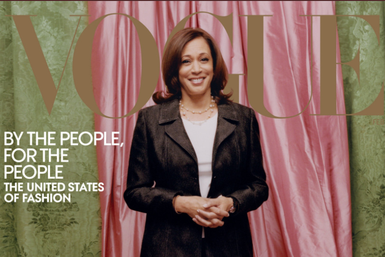 Vogue Photoshoot of Kamala Harris brings in criticism for