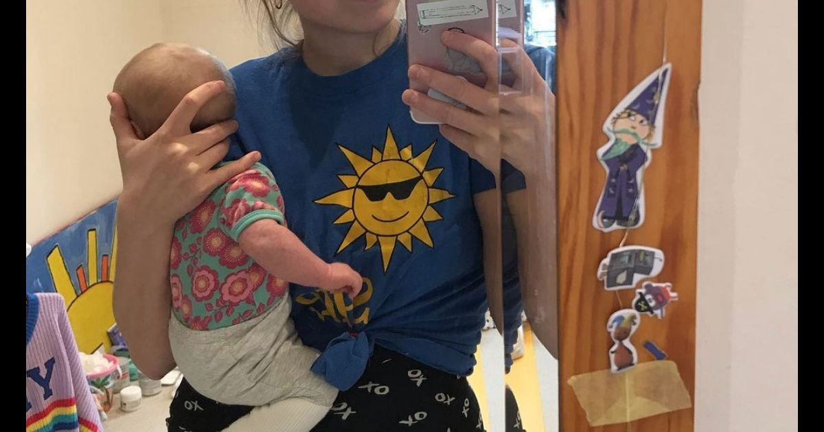 Jessie Cave's Newborn Is Hospitalized With COVID