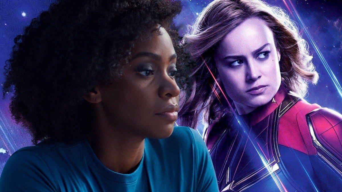 Monica Rambeau e a Capitã Marvel
