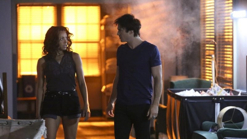 The Vampire Diaries: Why Damon and Bonnie's Actors Hated Each Other in Real Life