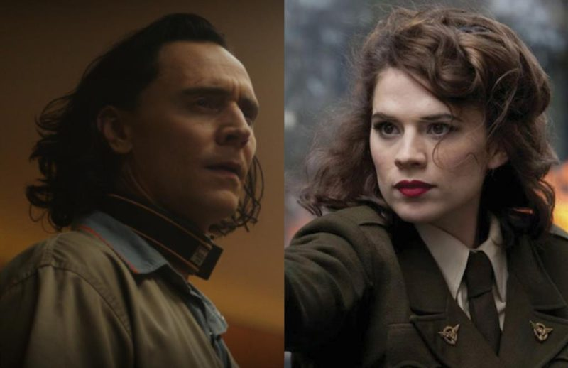 Does Peggy Carter appear in the first chapter of Loki?
