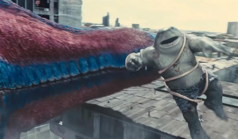 Insane trailer for The Suicide Squad: Harley Quinn, King Shark and company against the colossal Starro