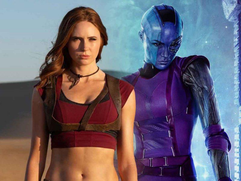 Así reaccionó Karen Gillan al leer el guión de Guardianes de la Galaxia Vol. 3