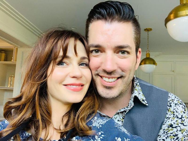 Jonathan Scott Accepts That he's 'dating up' with Zooey Deschanel