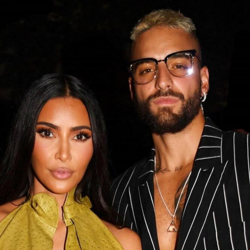 Maluma Finally Spoke About Rumors He and Kim Kardashian Dated
